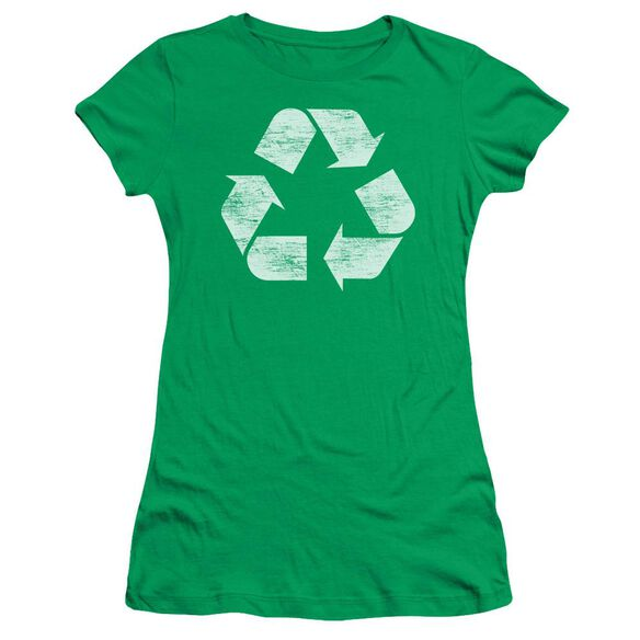 Recycle Short Sleeve Junior Sheer Kelly T-Shirt