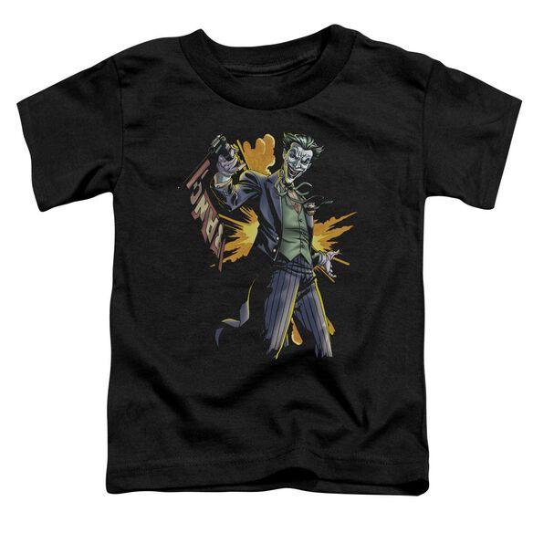 Batman Joker Bang Short Sleeve Toddler Tee Black Md T-Shirt
