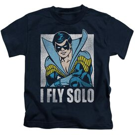Dc Fly Solo Short Sleeve Juvenile Navy T-Shirt