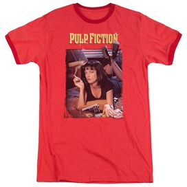 Pulp Fiction Poster Adult Ringer Red