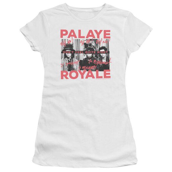 Palaye Royale Oh No Hbo Short Sleeve Junior Sheer T-Shirt