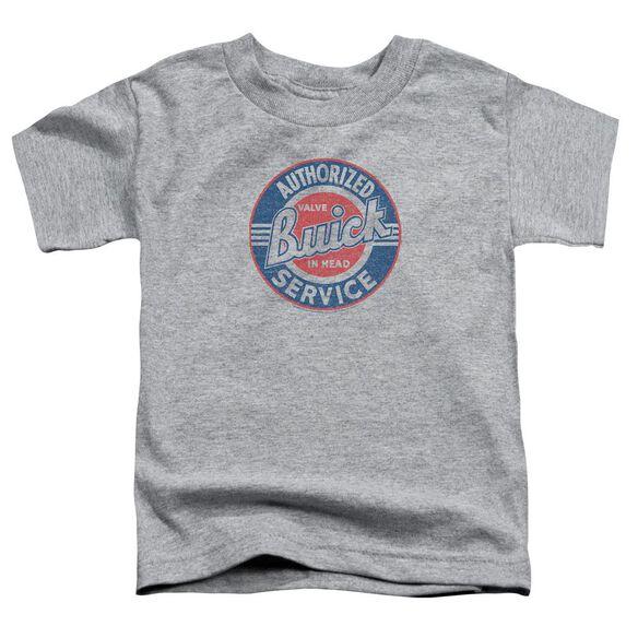 Buick Authorized Service Short Sleeve Toddler Tee Athletic Heather T-Shirt