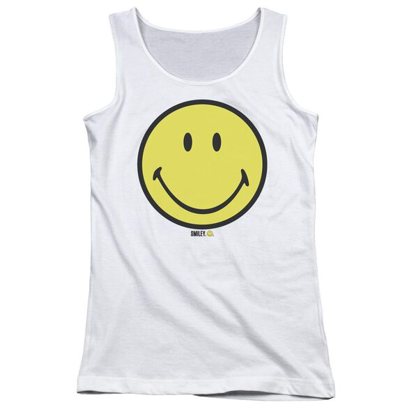 Smiley World Basic Smiley Juniors Tank Top
