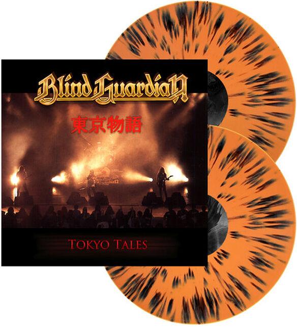 Blind Guardian - Tokyo Tales (Orange w/Black Splatter Vinyl)