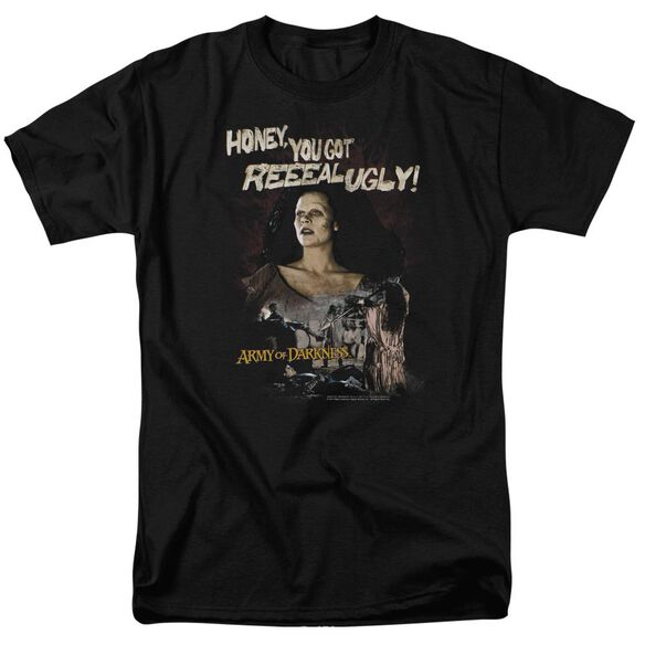 Mgm Army Of Darkness Reeeal Ugly! Short Sleeve Adult T-Shirt