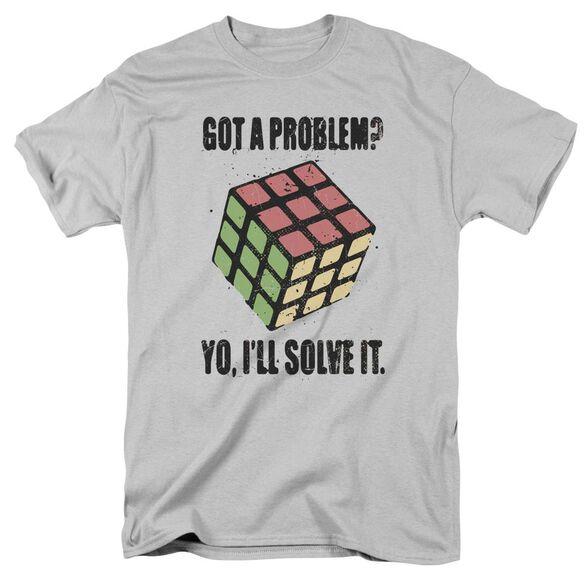 Rubiks Cube Problem Solver Short Sleeve Adult T-Shirt