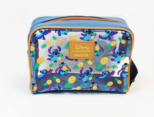 Loungefly Stitch Pineapple Cosmetic Bag