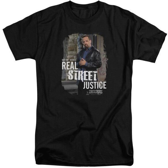 Law And Order Svu Street Justice Short Sleeve Adult Tall T-Shirt