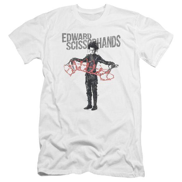 Edward Scissorhands Show & Tell Premuim Canvas Adult Slim Fit