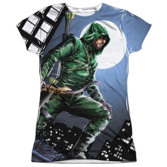 Arrow Night Watch Short Sleeve Junior Poly Crew T-Shirt