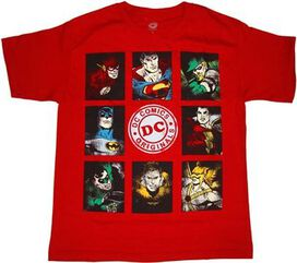Justice League Boxes Youth T-Shirt