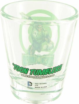 Green Lantern Mini Toon Tumbler Shot Glass