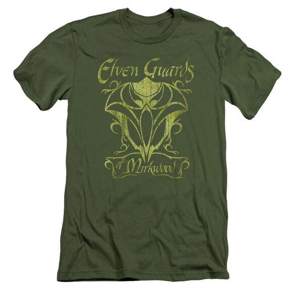Hobbit Guards Of Mirkwood Short Sleeve Adult Military T-Shirt