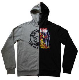 Iron Man Split Zip Hoodie