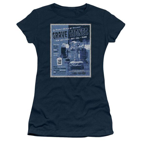 Ed Pitaph's Short Sleeve Junior Sheer T-Shirt