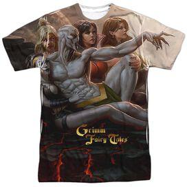 Zenoscope Evil Vs Good Short Sleeve Adult Poly Crew T-Shirt