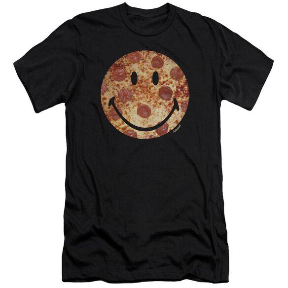 Smiley World Pizza Face Premuim Canvas Adult Slim Fit