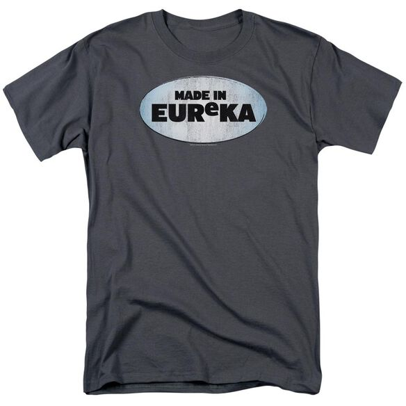 Eureka Made In Eureka Short Sleeve Adult Charcoal Charcoal T-Shirt