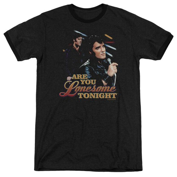 Elvis Are You Lonesome Adult Heather Ringer