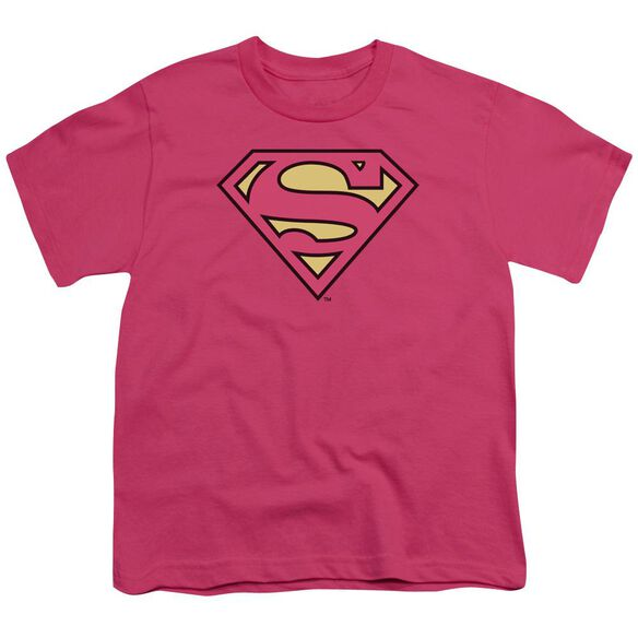 Dc Superman Classic Logo Short Sleeve Youth Hot T-Shirt