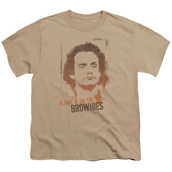 Taxi Blame It On The Brownies Short Sleeve Youth T-Shirt