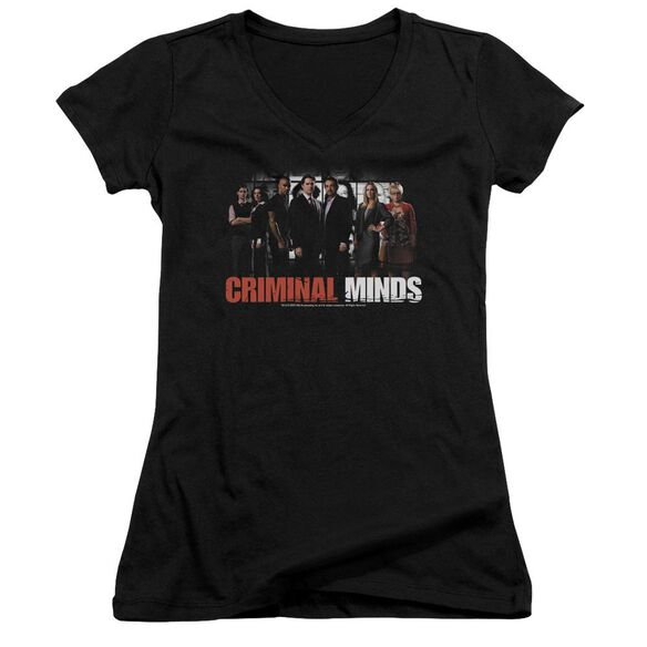 Criminal Minds The Brain Trust Junior V Neck T-Shirt
