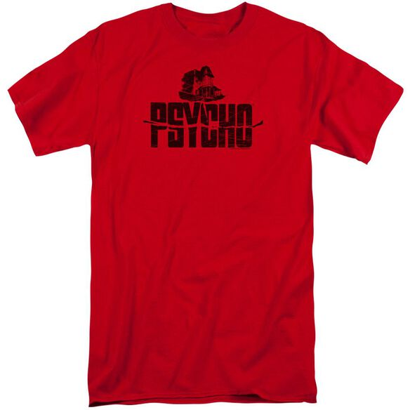 Psycho House On The Hill Short Sleeve Adult Tall T-Shirt