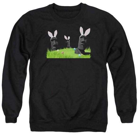 Easter Island Adult Crewneck Sweatshirt