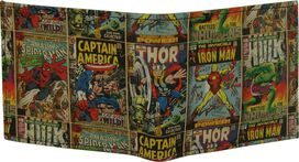 Marvel Comics Hero Covers Bi-Fold Wallet