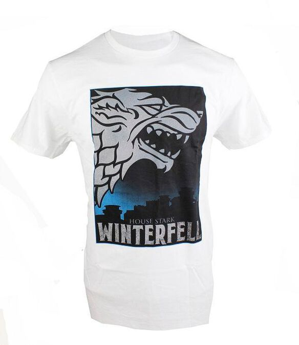 Game of Thrones House Stark Winterfell T-Shirt