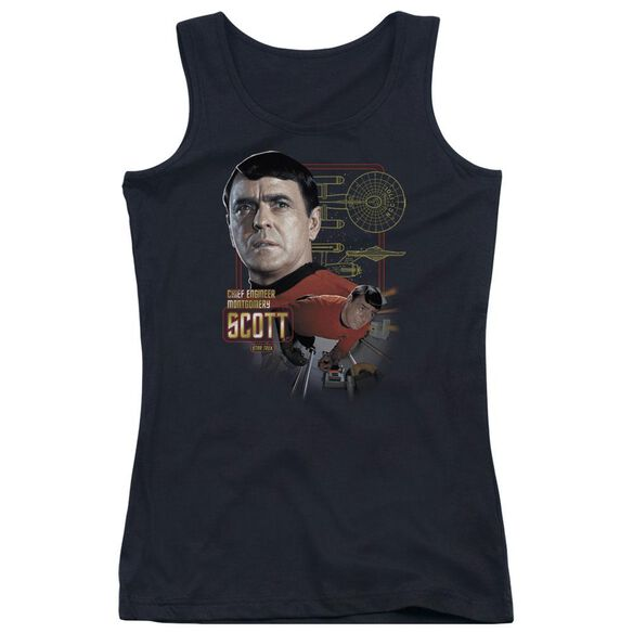 Star Trek Chief Engineer Scott - Juniors Tank Top