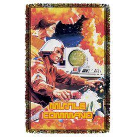 Atari Missile Command Woven Throw
