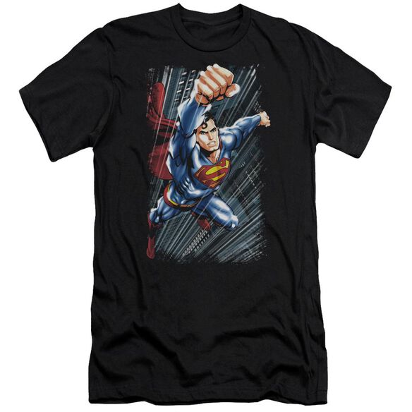 Superman Faster Than Premuim Canvas Adult Slim Fit