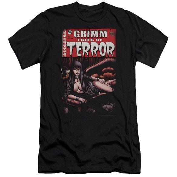 Zenoscope Terror Cover Premuim Canvas Adult Slim Fit