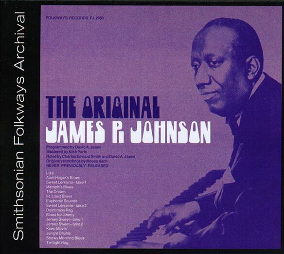 James P. Johnson - The Original James P. Johnson