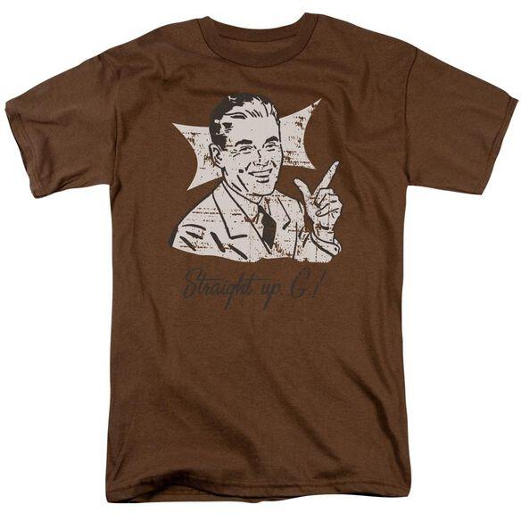 Straight Up G Short Sleeve Adult Safari T-Shirt