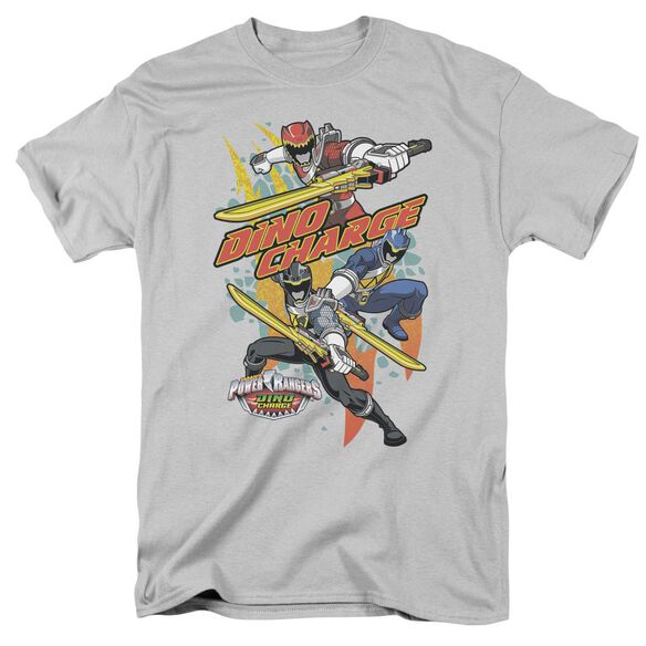 Power Rangers Swords Out Short Sleeve Adult T-Shirt