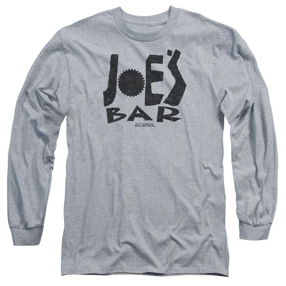Bsg Joes Bar Logo Long Sleeve Adult Athletic T-Shirt
