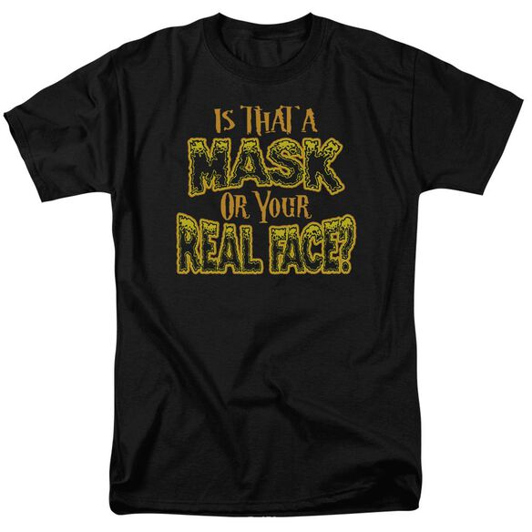 Mask Short Sleeve Adult T-Shirt