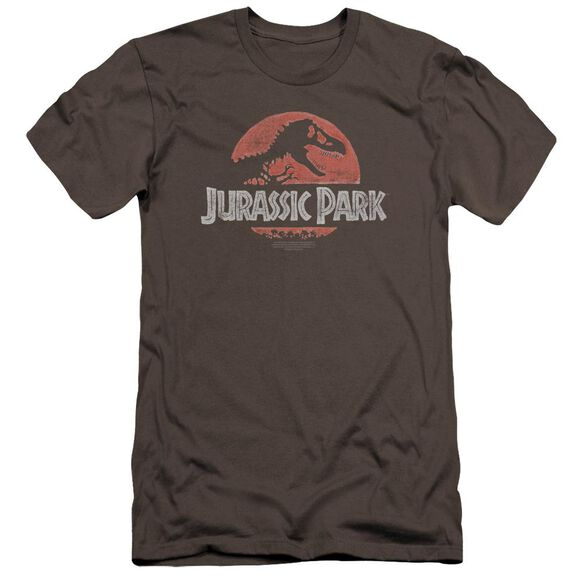 Jurassic Park Faded Logo Premuim Canvas Adult Slim Fit