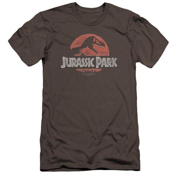Jurassic Park Faded Logo Premuim Canvas Adult Slim Fit