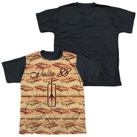 Oldsmobile Delta 88 Short Sleeve Youth Front Black Back T-Shirt