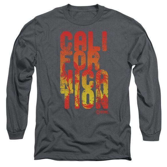 Californication Cali Type Long Sleeve Adult T-Shirt