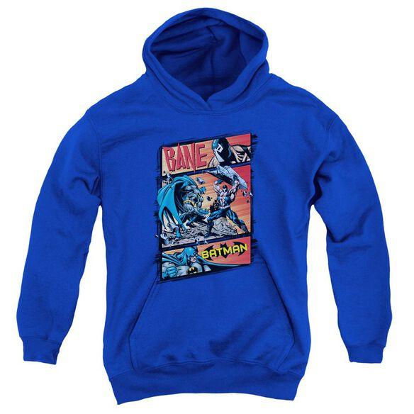 Batman Epic Battle Youth Pull Over Hoodie