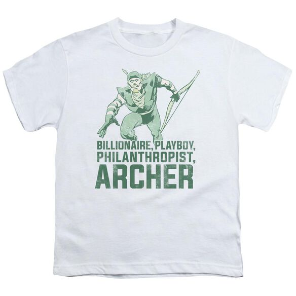 Dc Archer Short Sleeve Youth T-Shirt