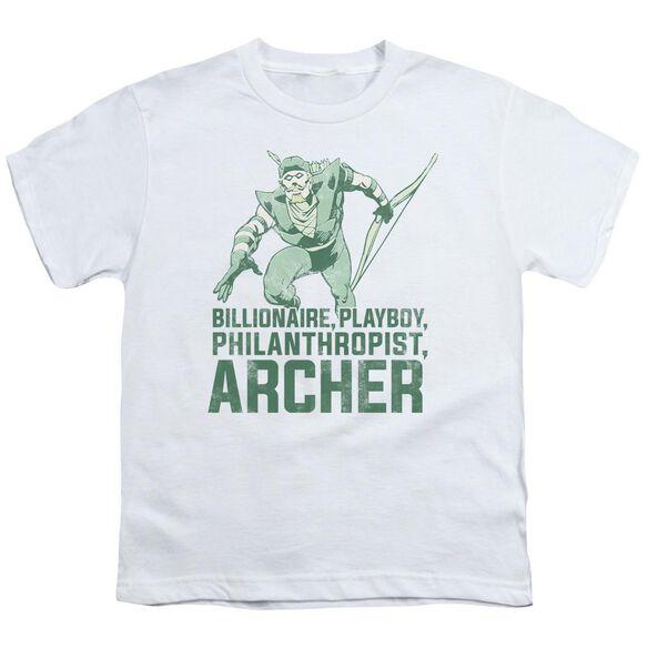 Dc Archer Short Sleeve Youth T-Shirt