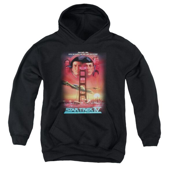 Star Trek The Voyage Home(Movie) Youth Pull Over Hoodie