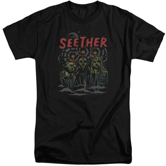 Seether Mind Control Short Sleeve Adult Tall T-Shirt