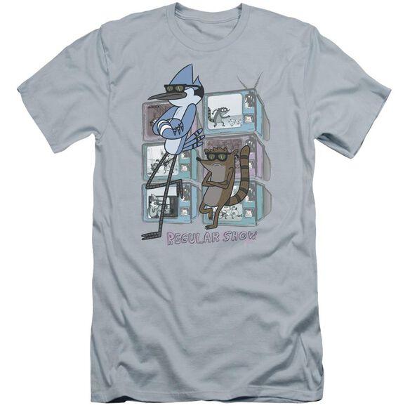 Regular Show Tv Too Cool Hbo Short Sleeve Adult Light T-Shirt