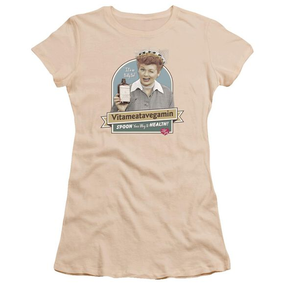 I Love Lucy Spoon To Health Premium Bella Junior Sheer Jersey